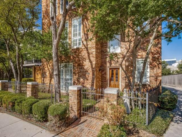 3207 Cole Avenue A, Dallas, TX 75204 (MLS #14690238) :: Real Estate By Design