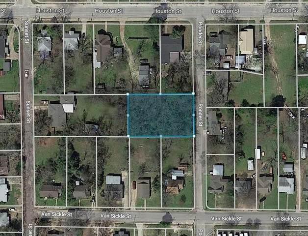 TBD Ponder Street, Sulphur Springs, TX 75482 (MLS #14690259) :: The Star Team | Rogers Healy and Associates