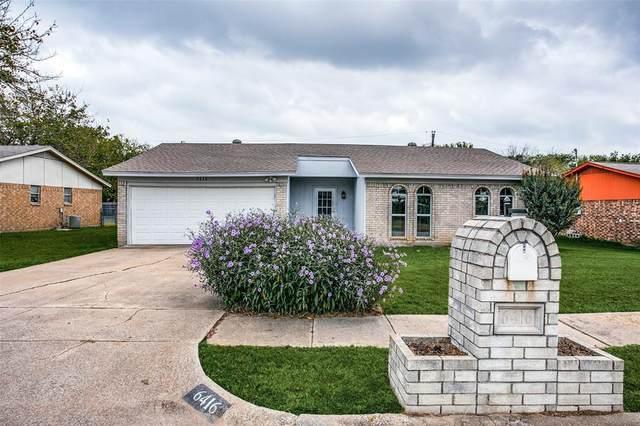 6416 N Stardust Drive, Watauga, TX 76148 (MLS #14690384) :: 1st Choice Realty