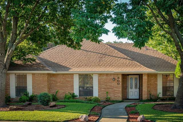 800 High Meadow Drive, Allen, TX 75002 (MLS #14690603) :: Real Estate By Design