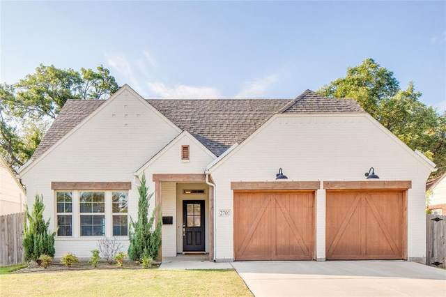 2701 Mission Street, Fort Worth, TX 76109 (MLS #14690700) :: The Russell-Rose Team