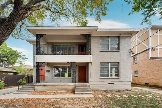 3624 N Fitzhugh Avenue, Dallas, TX 75204 (MLS #14690864) :: The Chad Smith Team