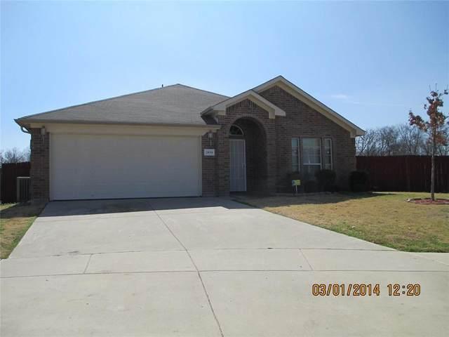 2034 Cliffside Drive, Arlington, TX 76018 (MLS #14691215) :: 1st Choice Realty