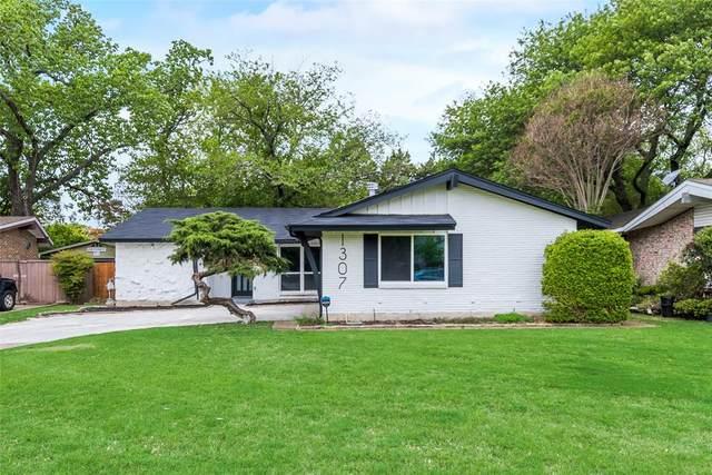 1307 Wisteria Way, Richardson, TX 75080 (MLS #14691458) :: Texas Lifestyles Group at Keller Williams Realty