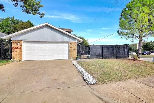 2401 Mira Drive, Garland, TX 75044 (MLS #14691513) :: The Tierny Jordan Network