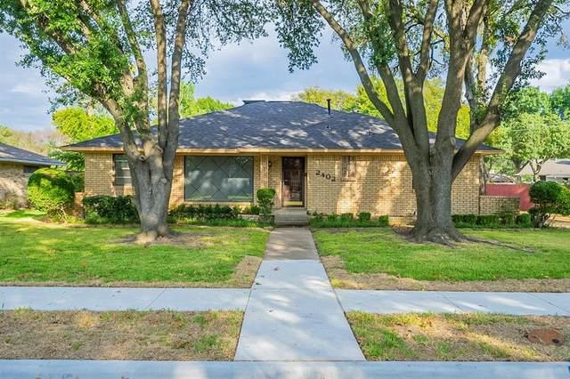 2402 Rochdale Street, Garland, TX 75040 (MLS #14691746) :: Trinity Premier Properties