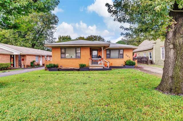 205 Brown Street, Waxahachie, TX 75165 (MLS #14691803) :: Trinity Premier Properties