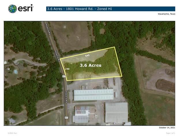 1801 Howard Road, Waxahachie, TX 75165 (MLS #14691817) :: The Krissy Mireles Team