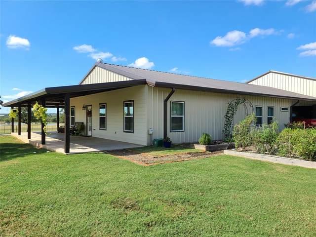 400 Reed Road, Perrin, TX 76486 (MLS #14691909) :: Trinity Premier Properties
