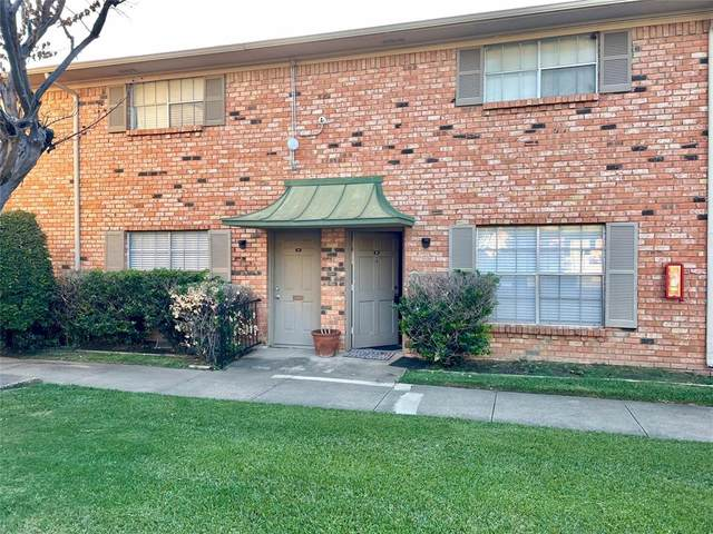 3504 Parkridge Drive #110, Dallas, TX 75234 (MLS #14691990) :: Trinity Premier Properties