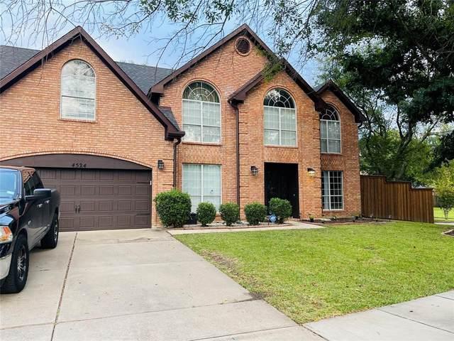4524 Rosedale Drive, Grand Prairie, TX 75052 (MLS #14692193) :: The Chad Smith Team
