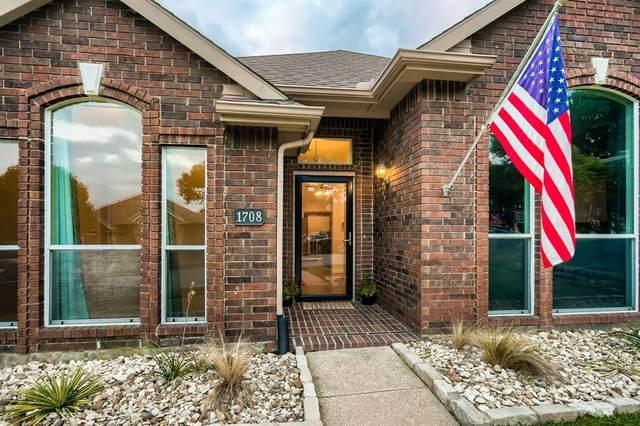 1708 Blackstone Drive, Carrollton, TX 75007 (MLS #14692260) :: The Tierny Jordan Network