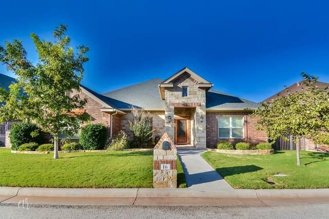 16 Twin Creek, Abilene, TX 79606 (MLS #14692444) :: Lisa Birdsong Group | Compass