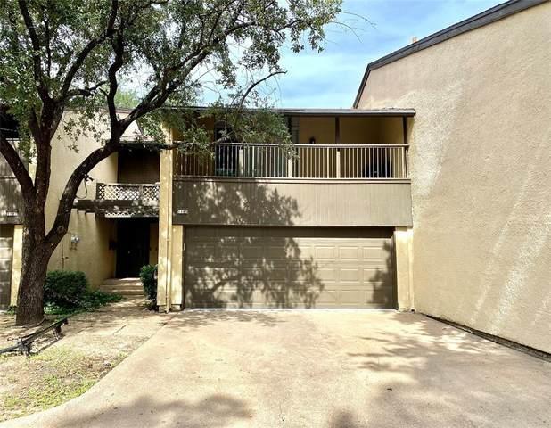 1105 Portales Lane F, Irving, TX 75061 (MLS #14692450) :: GS Realty Team | Fathom Realty