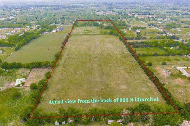 808 N N Church Street, Anna, TX 75409 (MLS #14692475) :: The Chad Smith Team