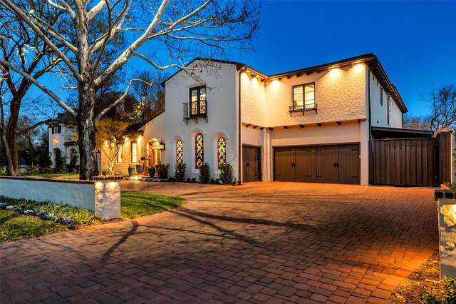 4618 Cherokee Trail, Dallas, TX 75209 (MLS #14692638) :: The Star Team   Rogers Healy and Associates