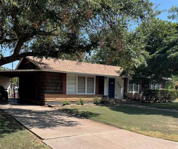 566 E North 21st Street, Abilene, TX 79601 (MLS #14692672) :: Team Hodnett