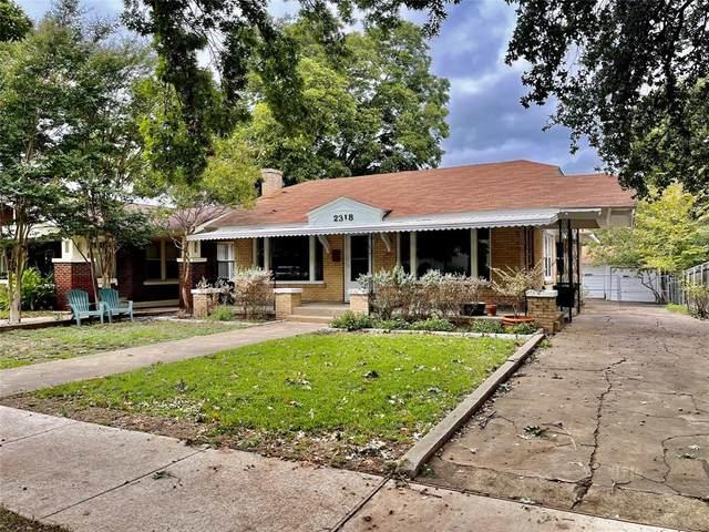 2318 W Magnolia Avenue, Fort Worth, TX 76110 (MLS #14692712) :: The Chad Smith Team