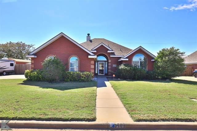 5409 Wagon Wheel Avenue, Abilene, TX 79606 (MLS #14692842) :: The Chad Smith Team