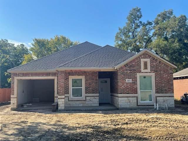 413 Hood Street, Terrell, TX 75160 (MLS #14692849) :: RE/MAX Pinnacle Group REALTORS