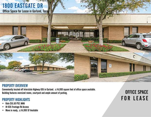 1800 Eastgate Drive, Garland, TX 75041 (MLS #14692995) :: KW Commercial Dallas