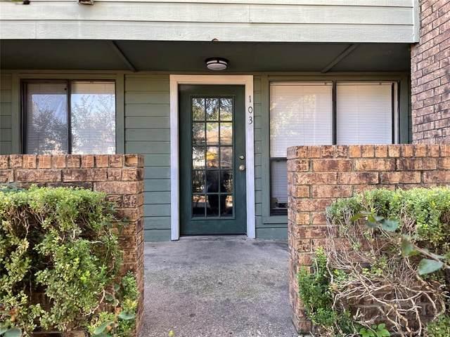 6108 Abrams Road #103, Dallas, TX 75231 (MLS #14693208) :: VIVO Realty