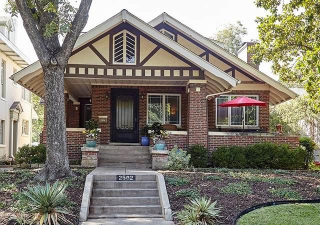 2502 6th Avenue, Fort Worth, TX 76110 (MLS #14693491) :: Frankie Arthur Real Estate