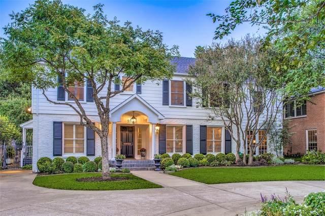 5543 W University Boulevard, Dallas, TX 75209 (MLS #14693528) :: Wood Real Estate Group