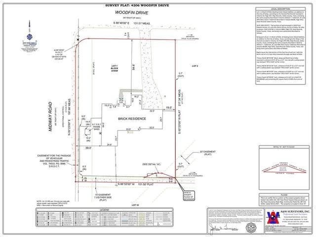 4206 Woodfin Drive, Dallas, TX 75220 (MLS #14693620) :: HergGroup Dallas-Fort Worth