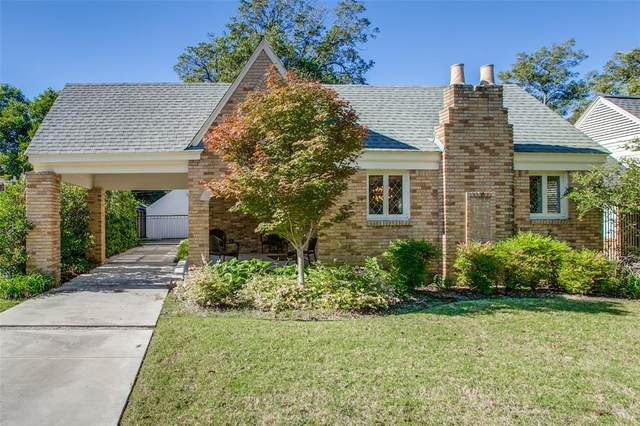 415 Monte Vista Drive, Dallas, TX 75223 (MLS #14693624) :: VIVO Realty