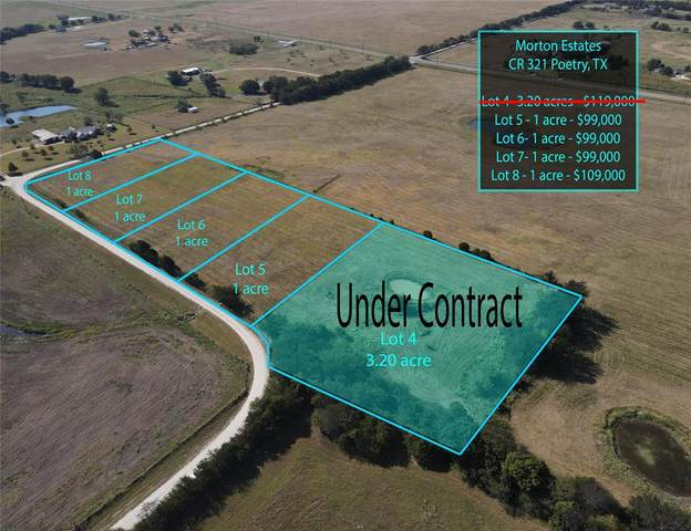 Lot 5 County Road 321, Poetry, TX 75160 (MLS #14693663) :: Real Estate By Design