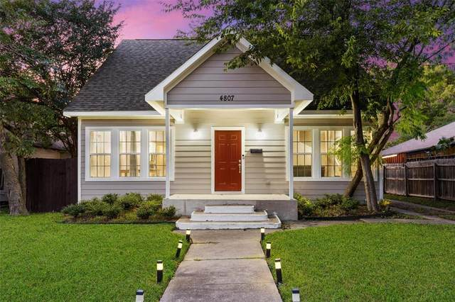 4807 Parry Avenue, Dallas, TX 75223 (MLS #14693707) :: The Mitchell Group