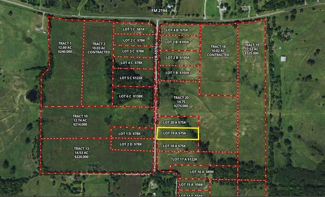 Lot 19A County Road 1076, Celeste, TX 75423 (MLS #14693752) :: The Chad Smith Team