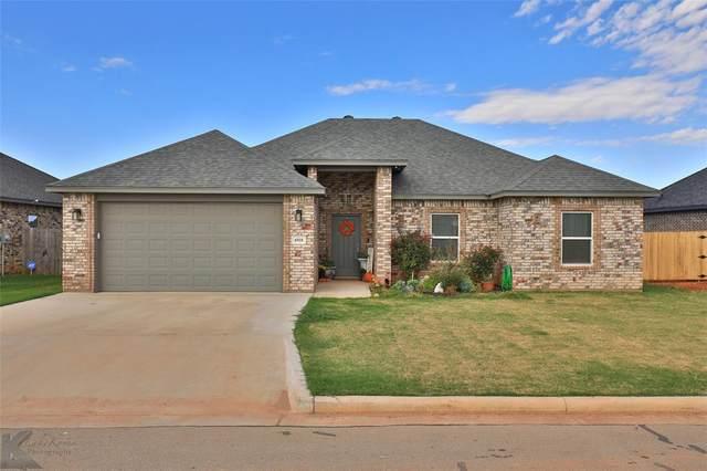 6918 Jennings Drive, Abilene, TX 79606 (MLS #14693795) :: The Good Home Team