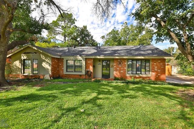 2200 Sylvan Drive, Abilene, TX 79605 (MLS #14693816) :: Team Hodnett