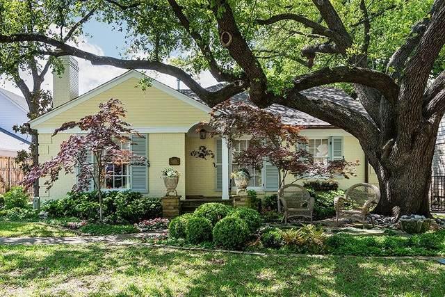 4401 Amherst Avenue, University Park, TX 75225 (MLS #14693845) :: Wood Real Estate Group