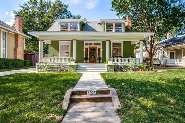 4907 Tremont Street, Dallas, TX 75214 (MLS #14693894) :: Wood Real Estate Group