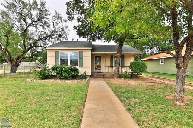 1558 Woodard Street, Abilene, TX 79605 (MLS #14693934) :: The Hornburg Real Estate Group
