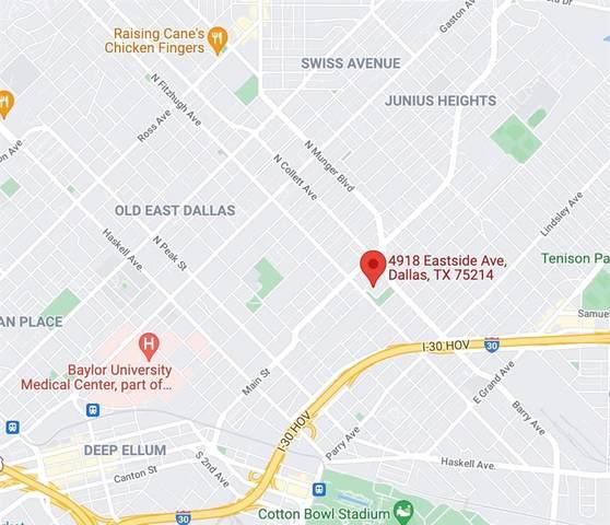 4918 East Side Avenue, Dallas, TX 75214 (MLS #14693944) :: Craig Properties Group