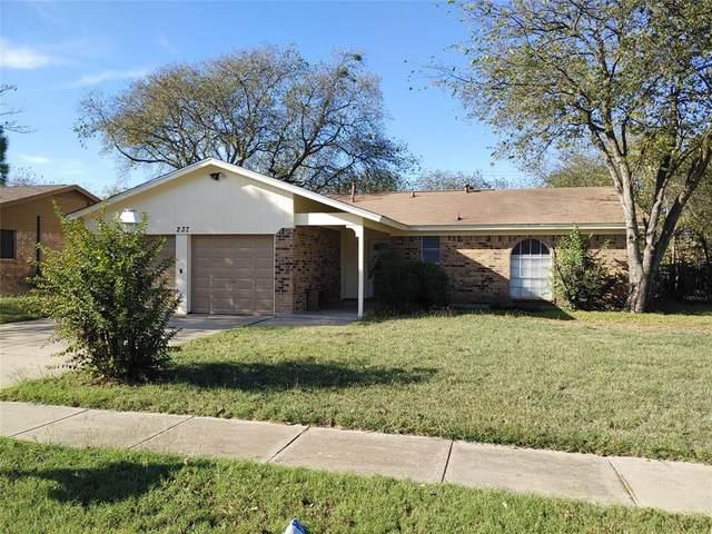 237 E Cunningham Avenue, Crowley, TX 76036 (MLS #14694039) :: Craig Properties Group