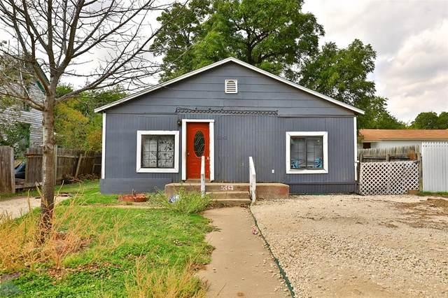 1242 Oak Street, Abilene, TX 79602 (MLS #14694190) :: Team Hodnett