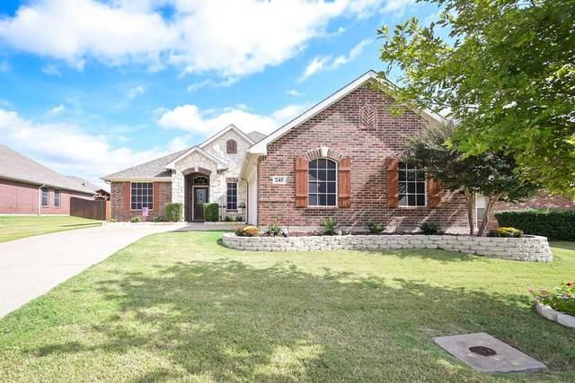 245 Lawson Farms Drive, Midlothian, TX 76065 (MLS #14694494) :: Team Hodnett