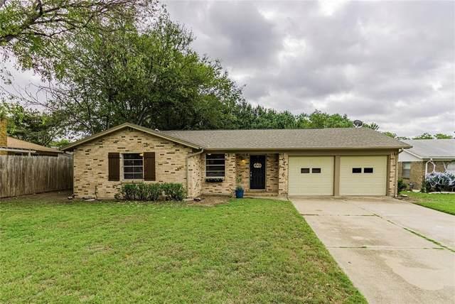 6416 Carousel Drive, Watauga, TX 76148 (MLS #14694842) :: Texas Lifestyles Group at Keller Williams Realty