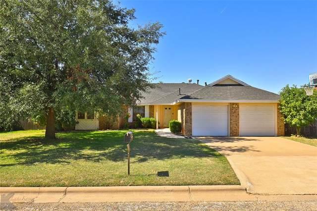 842 Alisons Way, Abilene, TX 79602 (MLS #14694965) :: Team Hodnett