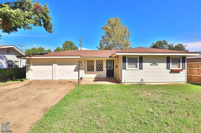 2510 S 39th Street, Abilene, TX 79605 (MLS #14695151) :: Team Hodnett