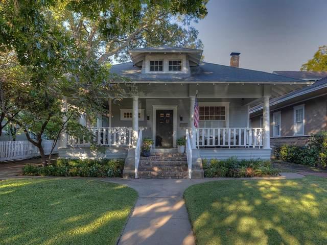 1300 Belle Place, Fort Worth, TX 76107 (MLS #14695440) :: Premier Properties Group