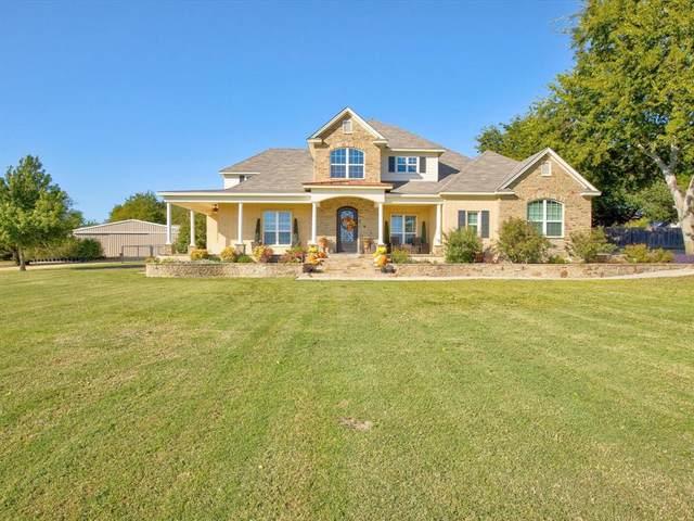 1355 N Lake Drive, Weatherford, TX 76085 (MLS #14695743) :: The Rhodes Team