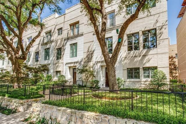 3210 Carlisle Street #007, Dallas, TX 75204 (MLS #14696199) :: Premier Properties Group