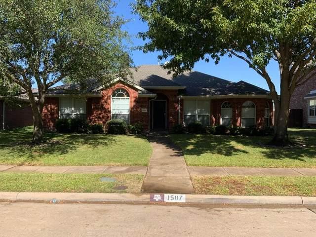 1507 High Country Lane, Allen, TX 75002 (MLS #14696212) :: HergGroup Dallas-Fort Worth