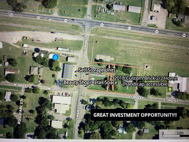 TBD 3rd & Main & 103 E 3rd Corner, Dodd City, TX 75438 (MLS #14696385) :: Real Estate By Design